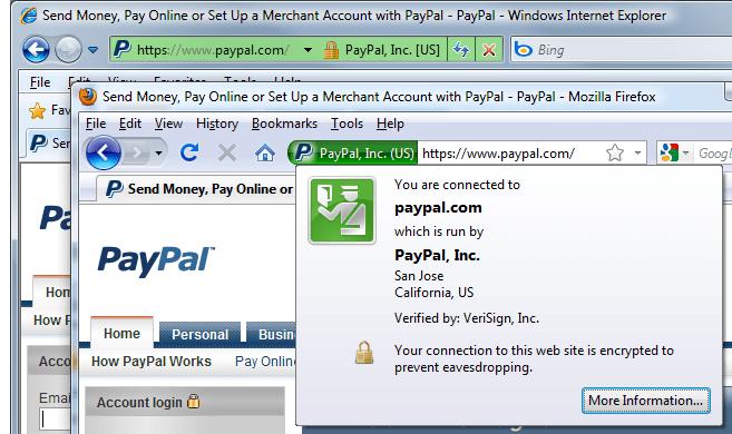 EV Certificate image at sslshopper.com
