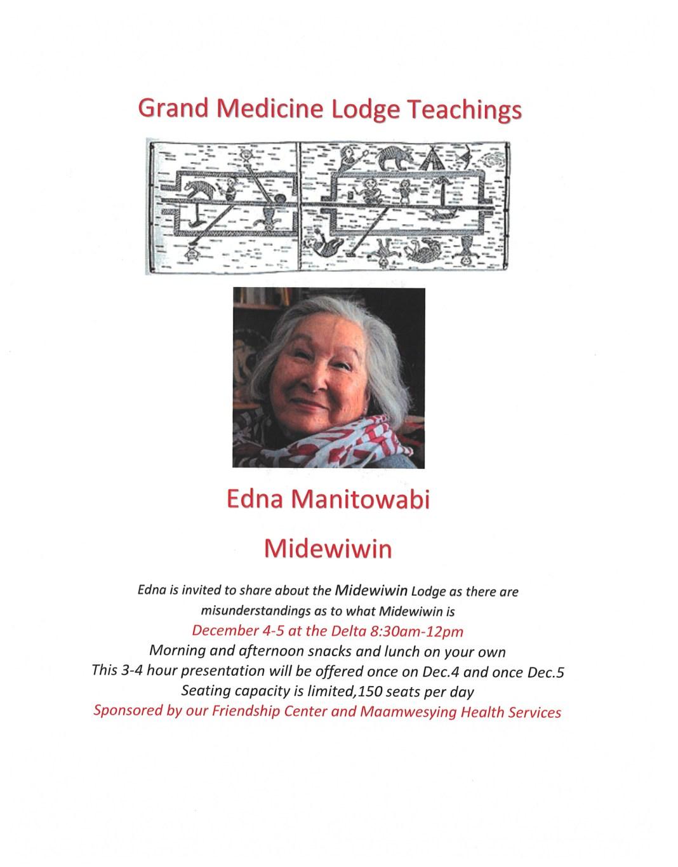 Edna Manitowabi
