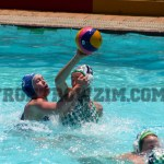 Waterpolo Joey Beare vs Natasha Lawson