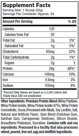 NITRO-TECH-100%-WHEY-GOLD-nutritional-information