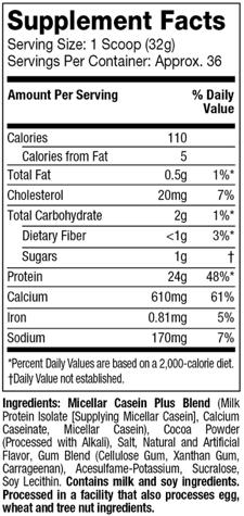 NITRO-TECH-CASEIN-GOLD-nutritional-facts