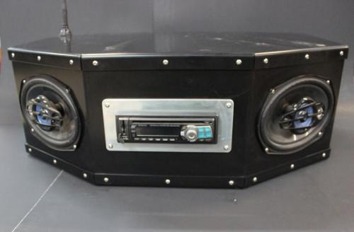 Screamin' Seeman Off Road Shop Radio & Speaker Combo box