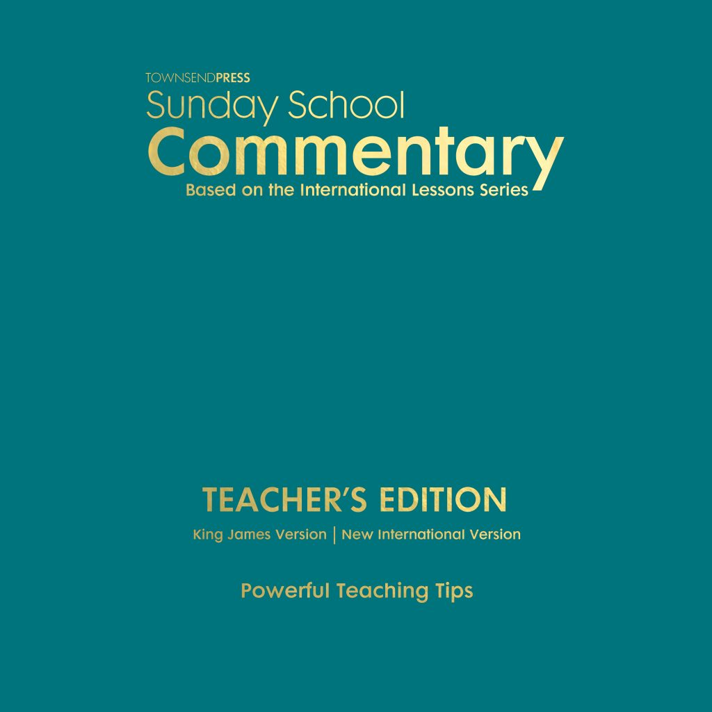 Townsend Press Sunday School Commentary Teacher