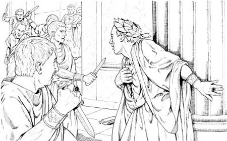 Et tu brute the man who lost Coursework Sample