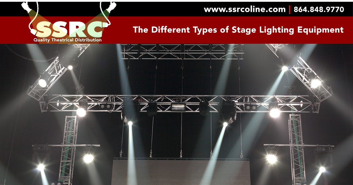 the different types of stage lighting