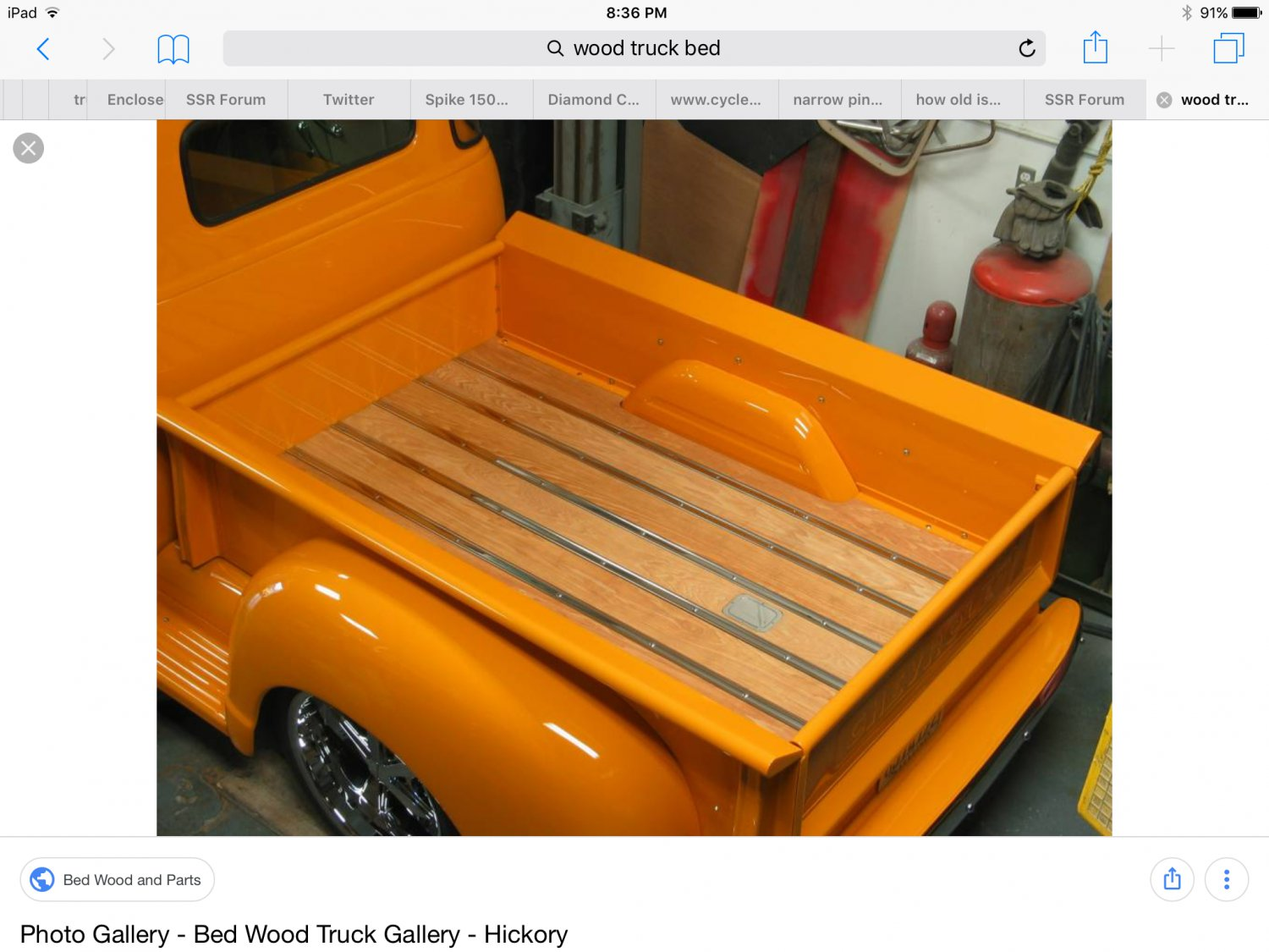 Wood Truck Beds