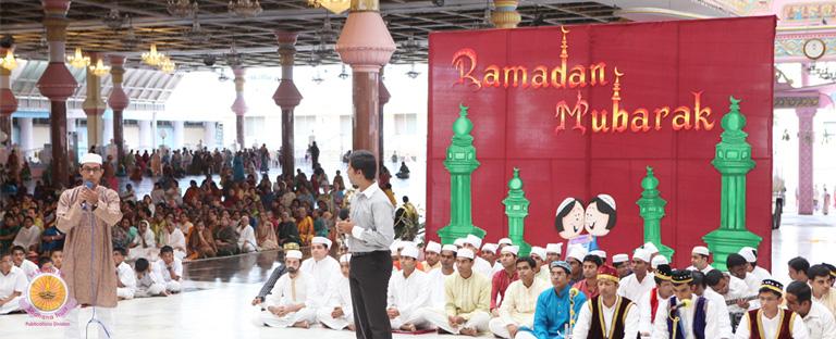 Ramadan Mubarak…