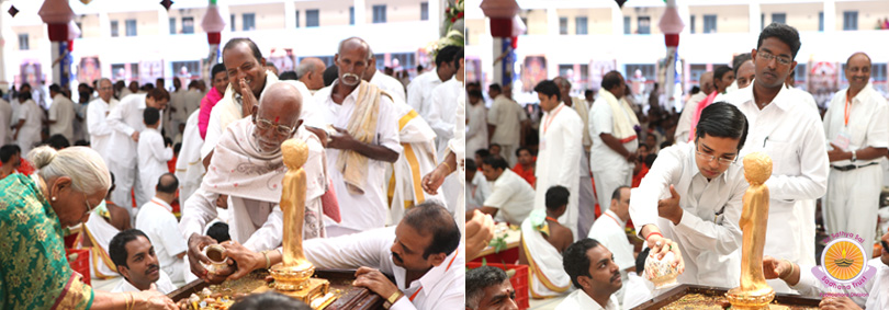 Maha Sahasra Kalashabhishekam for Universal Peace and Prosperity…