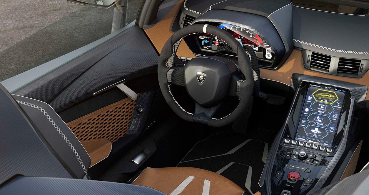 9 2017 lamborghini centenario lp770 4 roadster interior