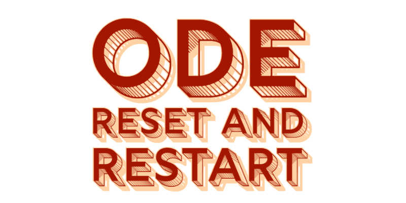 ODE Reset and Restart URL link