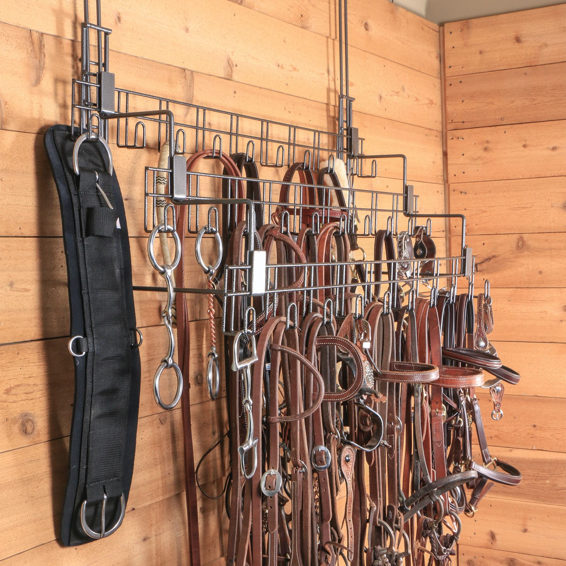 easy up pro series large bridle tack rack