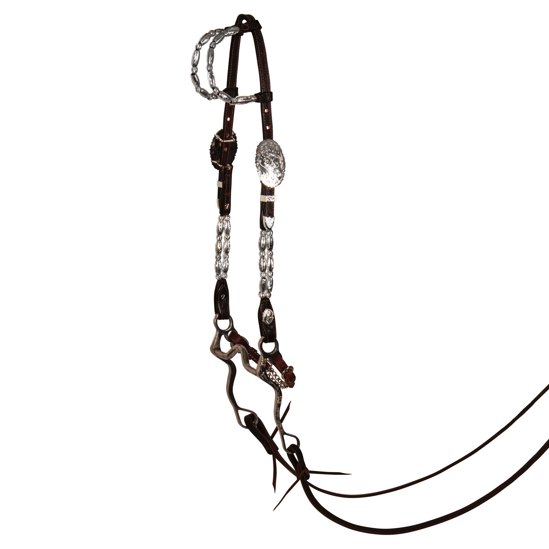 Billy Royal® Double Row Two Ear Headstall in Western at