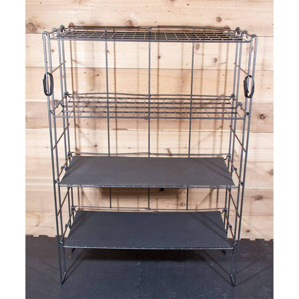 Easy- Pro Folding Shelving Unit In Stable Racks And