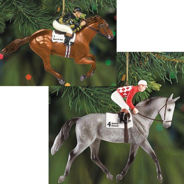Breyer Race Horse Native Dancer Ornament