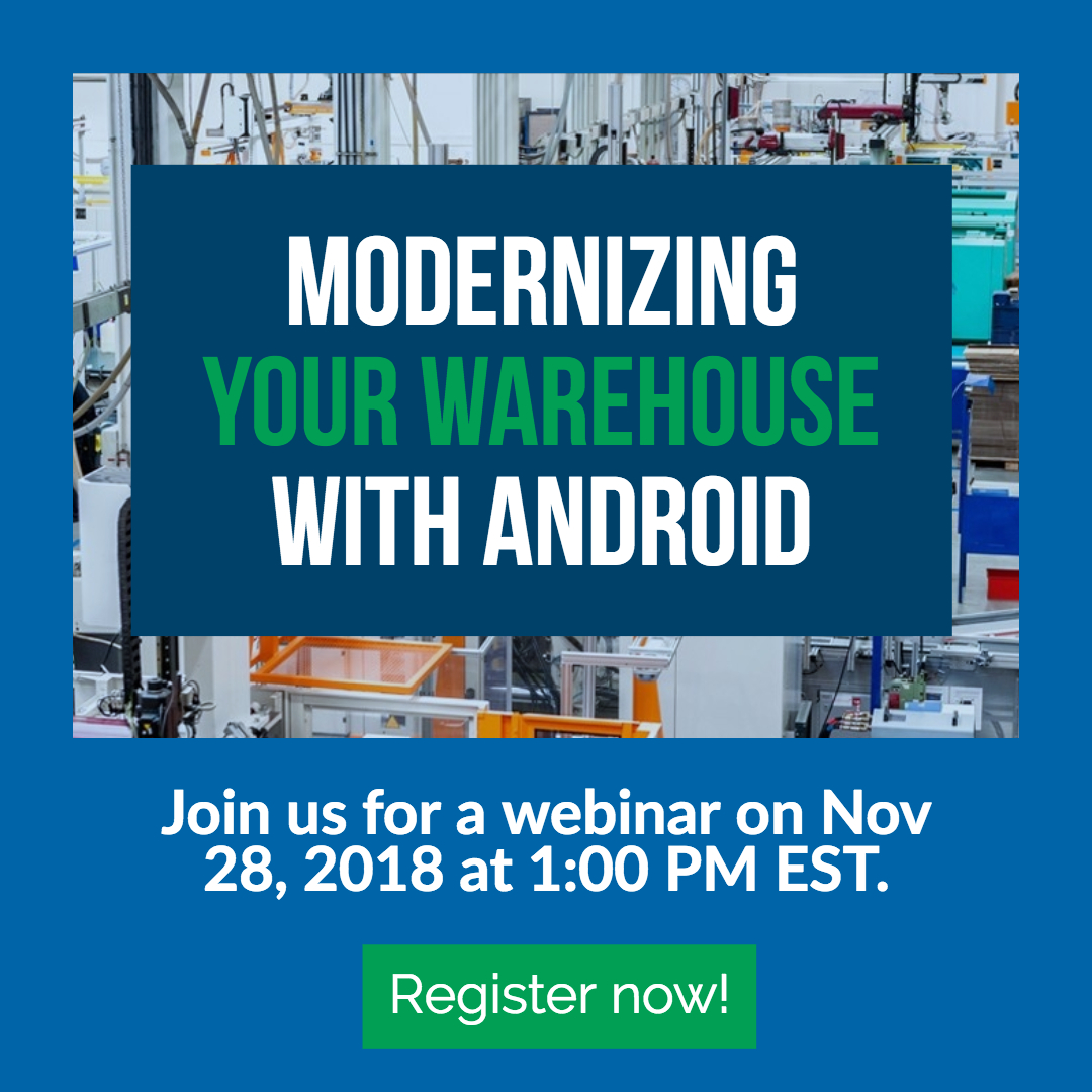 Android in the Warehouse Webinar