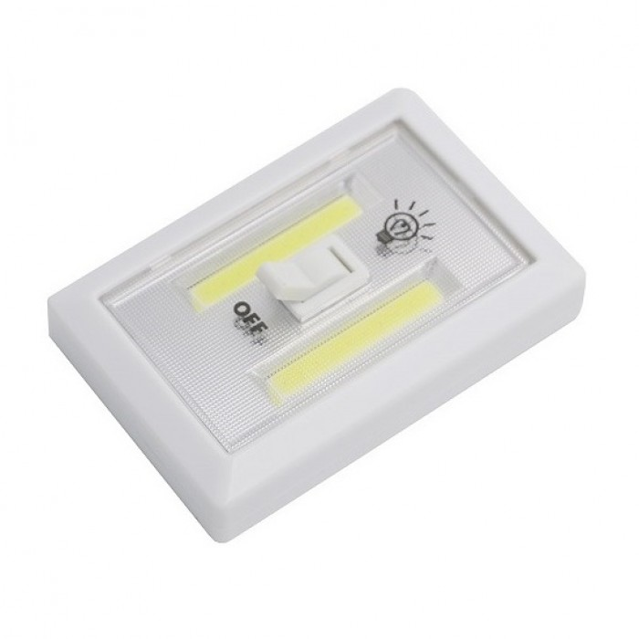 wiring diagram for wall lights 6w white light double cob led switch night bennett trim tab pump mini lamp super bright with magnetic