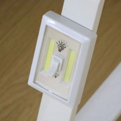 Wiring Diagram For Wall Lights 6w White Light Double Cob Led Switch Night Telecaster 3 Way Mini Lamp Super Bright With Magnetic