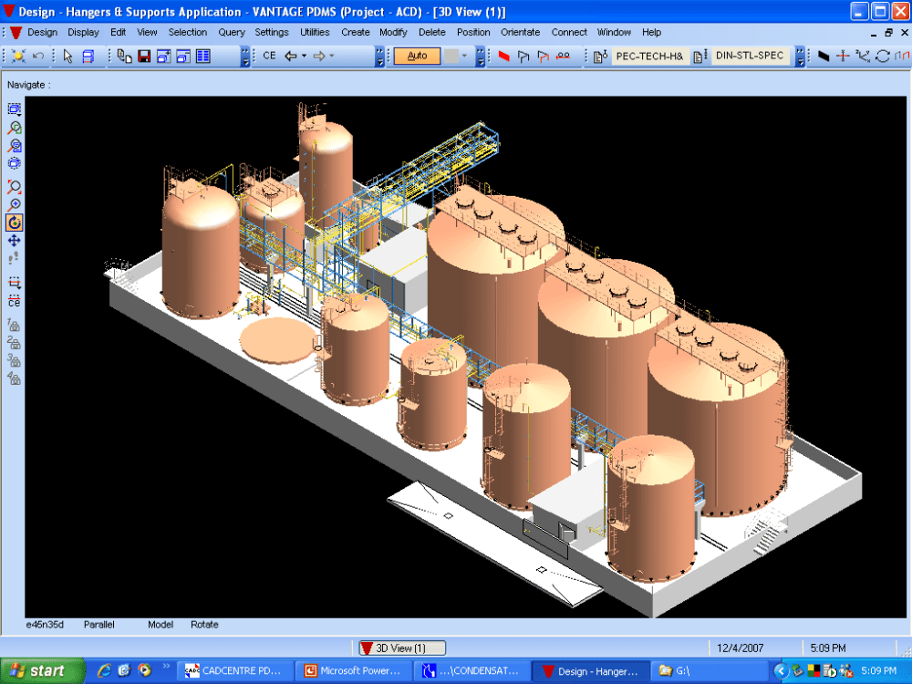 medium resolution of iso view of the tank farm layout