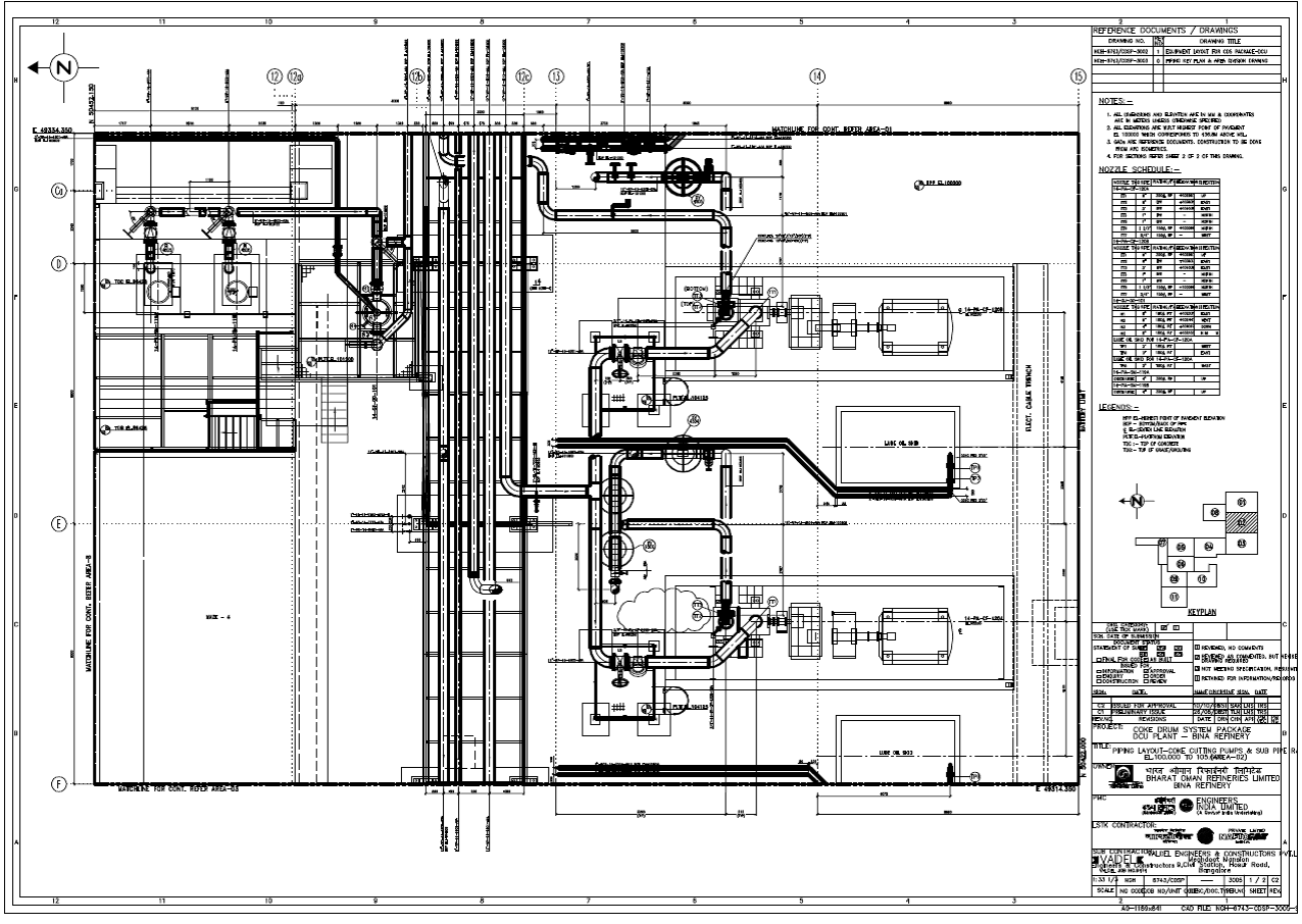 steam power generation plant general layout