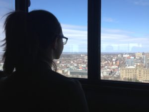 View from the Peace Tower on Parliament Hill