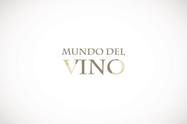 logotipo mundo vino