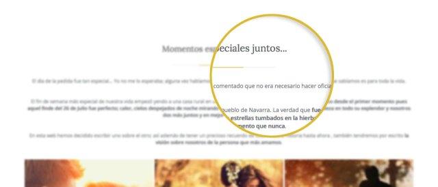 web-boda-textos-personalizables