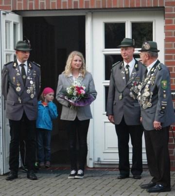 Begrüßung der Bundesjugendkönigin 2014