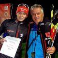 Terence mit Trainer Frank Erlbeck
