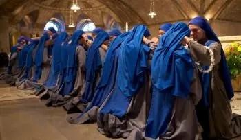 religieus habijt geloften Blauwe Zusters