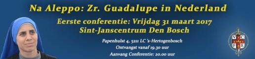 Zuster Guadalupe in Nederland – Zeven conferenties in Nederland