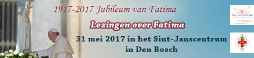 Lezingen over Fatima in het Sint-Janscentrum in Den Bosch