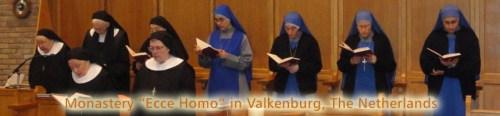 """Benedictinas y Servidoras en el Monasterio """"Ecce Homo"""" en Holanda"""