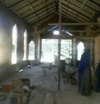 costruzione cappella monastero Arequipa