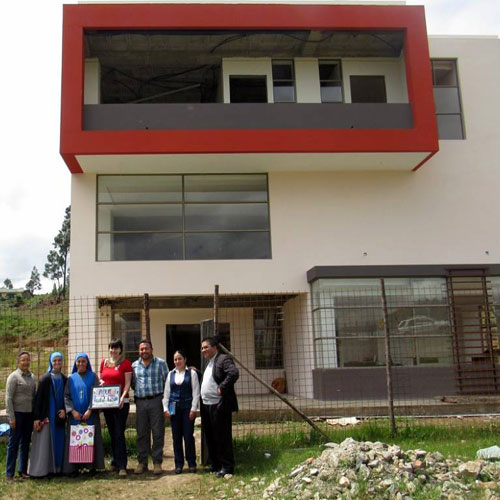 News: Building work progress in Ecuador