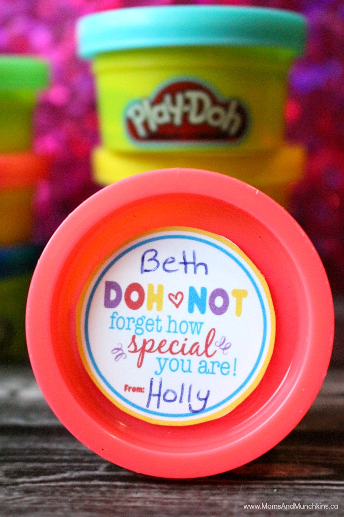 Non Candy Valentines Day Ideas With Play Doh SampS Blog