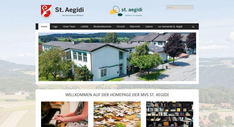 neue Website Volksschule