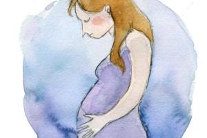 اعراض وعلاج الإكتئاب الناتج عن الحمل و الولادة