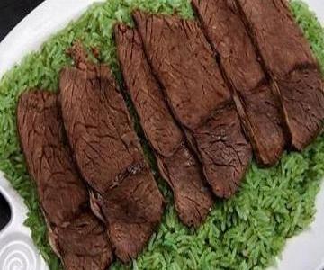 شرائح اللحم المشوح