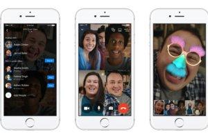 فيس بوك ماسنجر يدعم محادثات الفيديو الجماعية