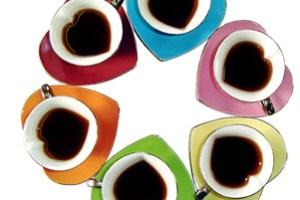 ركز على فنجان القهوة وليس على الكوب