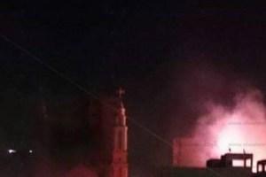 تعرف على تفاصيل حريق كنيسة ماري جرجس بالدقهلية