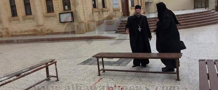 """عاجل : الحكومة تكتشف هوية صاحب عبارة """" هتموتوا يا مسيحيين """" داخل الكنيسة"""