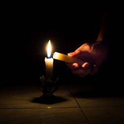 Candle Light Outage