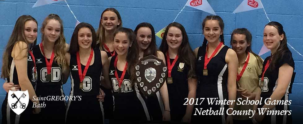 Netball County Winners
