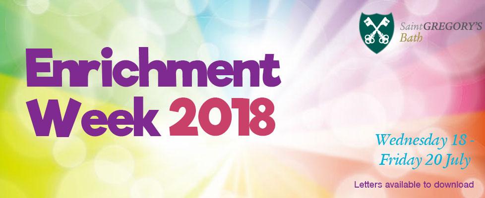 Enrichment-Week-2018