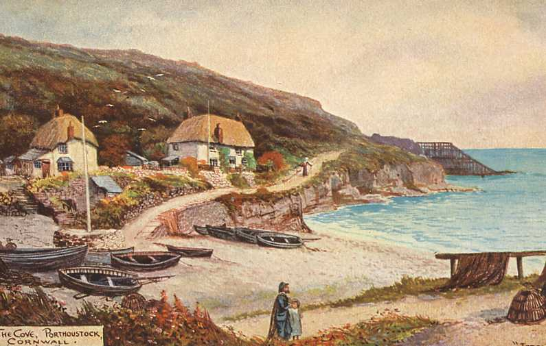 Old Images Of St Keverne Cornwall