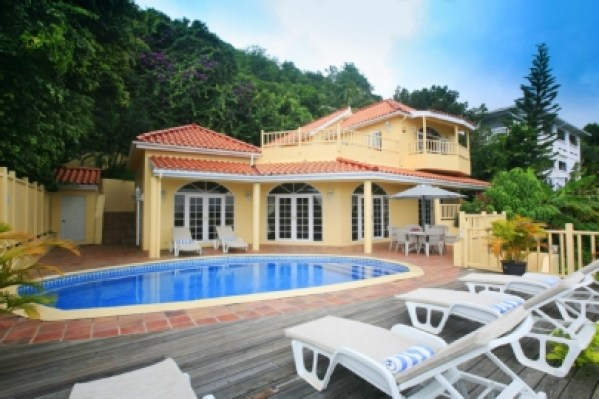 Mango tree villa in St Lucia