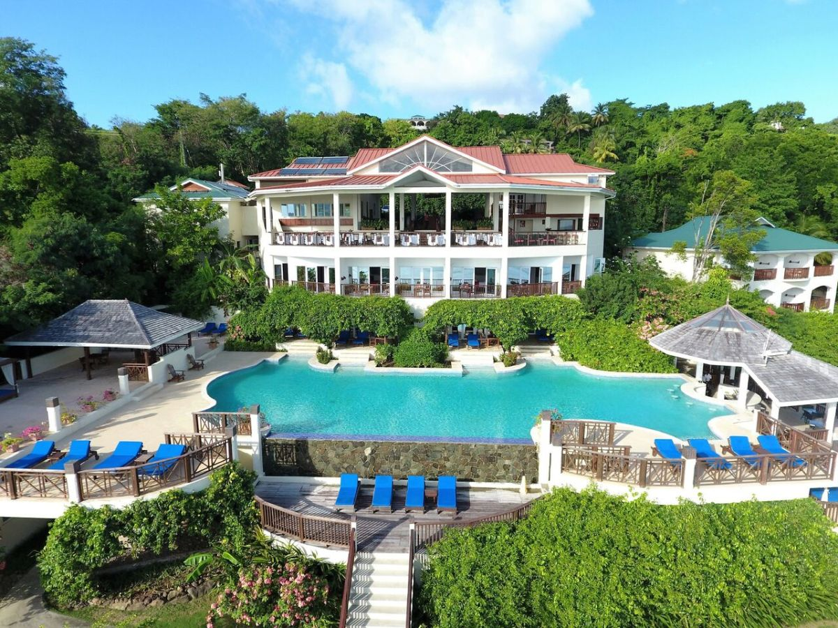 Calabash Cove Resort and Spa Hotel in St. Lucia- Adults Only Resort