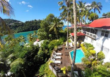 accomodation in marigot bay st.lucia