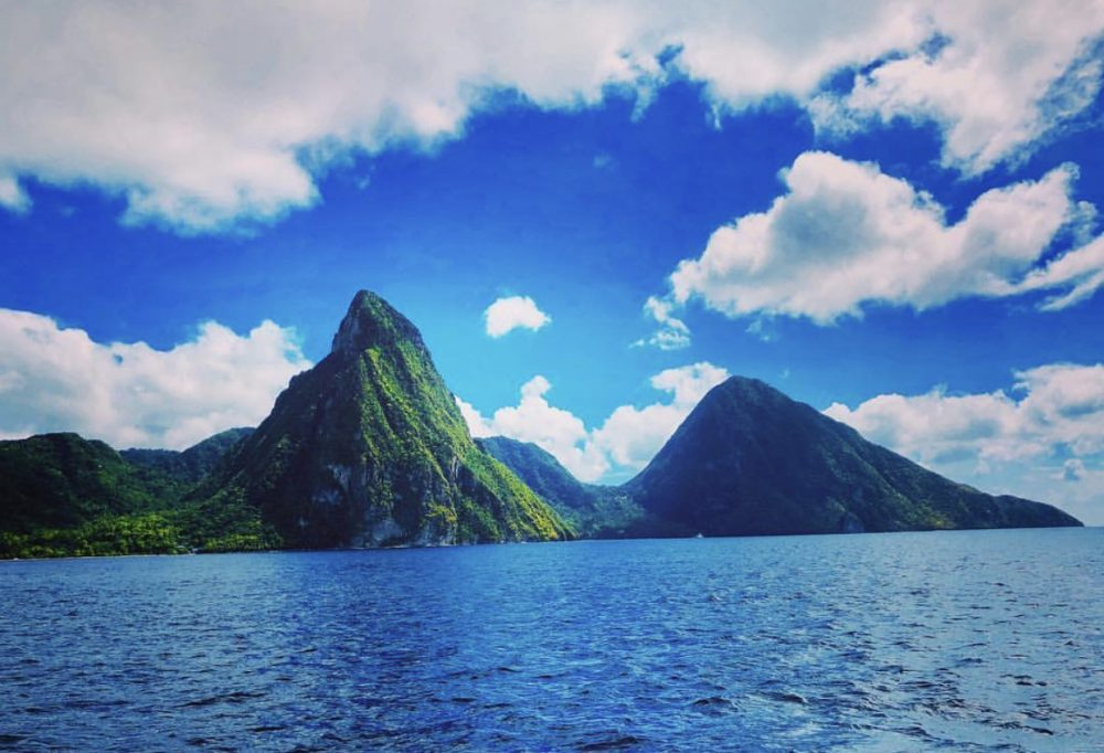 The Pitons -St. Lucia